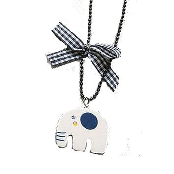 Vintage Cute Elephant Necklace For Women