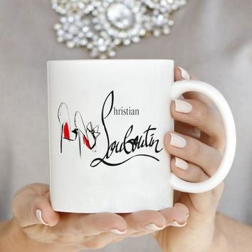 Red Bottom Stiletto Design Coffee Mug