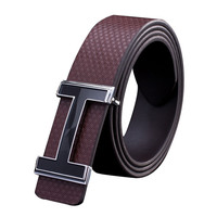 2016 New Men Belts Fashion Hot PU Alphabet Smooth Buckle Men Business Belts For Men High-Quality Men Belts