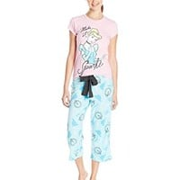 Briefly Stated Women's Cinderella Two-Piece Pajama Set
