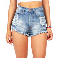 Easygoing High Waist Shorts