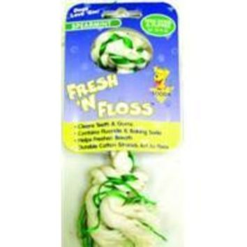Booda Products - Fresh-n-floss 2-knot Rope Bone Dog Toy