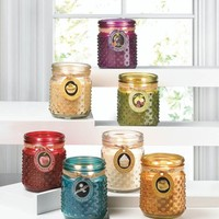 Hobnail Jar Candles - 7 Scents