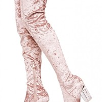 High Frequency Thigh-High Boots
