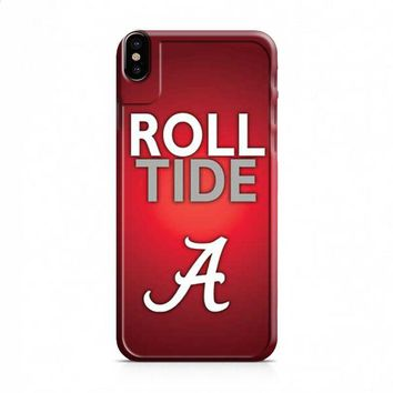 Alabama Crimson Tide roll tide iPhone X case
