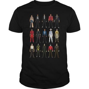 Action Figure Of Michael Jackson Shirt Premium Fitted Guys Tee