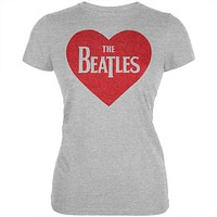 The Beatles - Red Heart Juniors T-Shirt