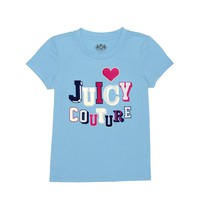 Logo Jc Varsity Short Sleeve Tee by Juicy Couture,
