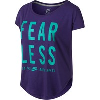 Nike Women's Fearless Short Sleeve Training Shirt