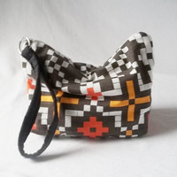 Pouch - Small zippered Cosmetic bag - Handmade clutch wallet