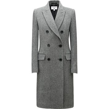 WOMEN CARINE WOOL CHESTER COAT | UNIQLO
