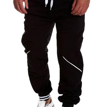 Men Pants Hip Harem Joggers Pants Male Trousers Mens Joggers Solid Pants Sweatpants