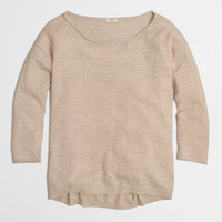 Factory boyfriend boatneck sweater
