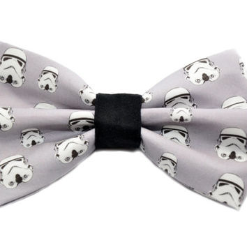Star Wars Storm Trooper Bow Tie with Adjustable Strap