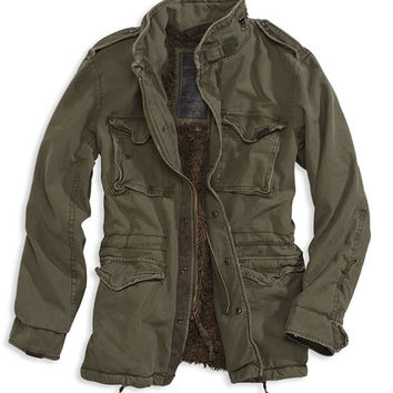 Rakuten: Field boa military jacket ≪ army green /Army Green ≫ AE Field Jacket [vintage processing ]American Eagle (men's) American casual]- Shopping Japanese products from Japan