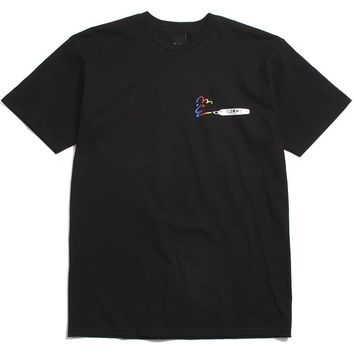 Marker T-Shirt Black