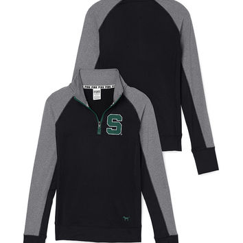 Michigan State University Ultimate Half-Zip - PINK - Victoria's Secret