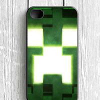 Green Minecraft Creepers iPhone 4S Case