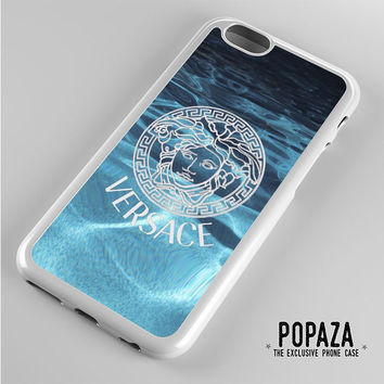 Versace logo on water iPhone 6 Case Cover