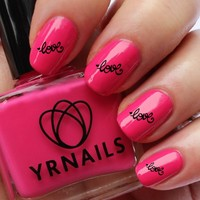 Love Nail Decals by YRNails:Amazon.co.uk:Beauty