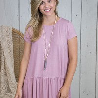 Malay Bamboo Fabric Top, Dusty Pink