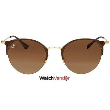 Ray Ban Brown Gradient Sunglasses RB3578 900913 50