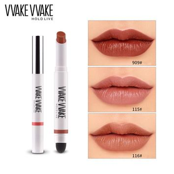 HOLD LIVE Velvet Air Cushion Lipstick 5 Colors Matte Lip Stick Make Up Metallic Waterproof Nude Red Lips Korean Cosmetics Makeup