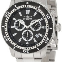 My Associates Store - Invicta Men's 1203 II Collection Chronograph Stainless Steel Watch