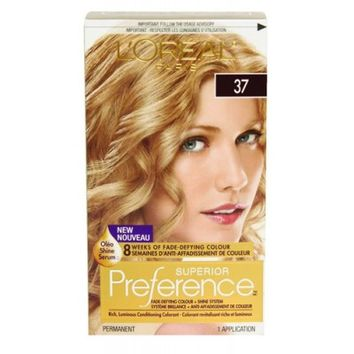 Buy L'Oreal Paris Superior Preference Golden Blonde #37 Online in Canada | Free Shipping