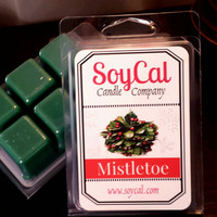 Mistletoe wax tarts - candle tarts - Christmas wax melts - tart burner - soy melts