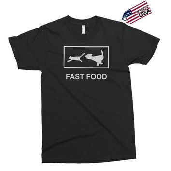 fast food funny Exclusive T-shirt