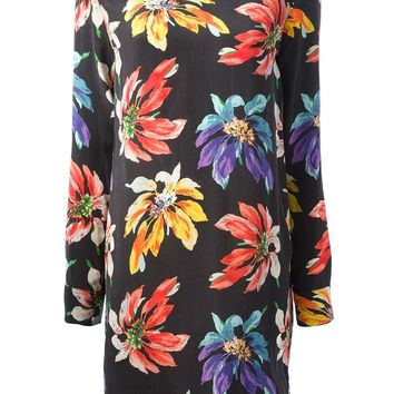 Equipment Floral Print Shift Dress