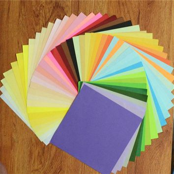 50/100PCs 15x15cm Scrapbooking Paper Craft Wedding Party Decoration Gifts Card DIY Papers Sticker Sheets Card Making Supplies