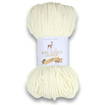Plymouth Peru Baby Alpaca Grande Yarn - Natural