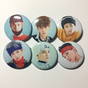 NCT U Group Set Buttons KPOP