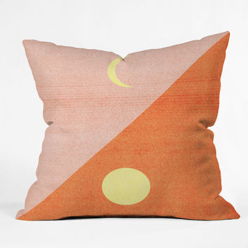 Nick Nelson Last Days Of Summer Throw Pillow