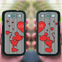 Samsung Galaxy S3,Samsung Galaxy S4,Love Heart, Samsung note 2 case,samsung s4 active,Samsung S4 mini,S3 mini,Blackberry Z10,Q10 case