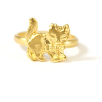 Kitty Knuckle Ring