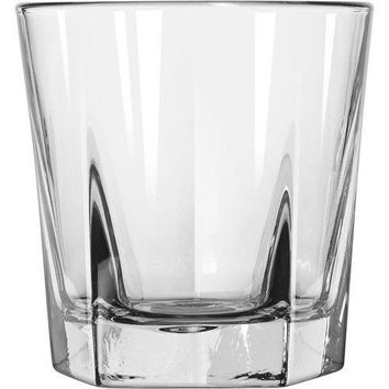 Double Old Fashioned Rocks Whiskey Scotch Glasses 12 Oz Set of 4heavy Base Elegant Barware