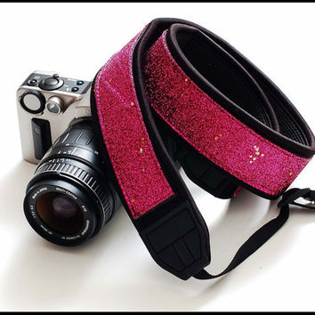 New Interchangeable trendy camera strap SLR  by sizzlestrapz
