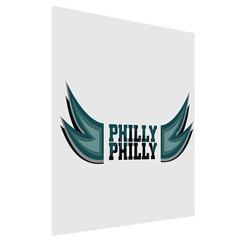 Philly Philly Funny Beer Drinking Matte Poster Print Portrait - Choose Size by TooLoud