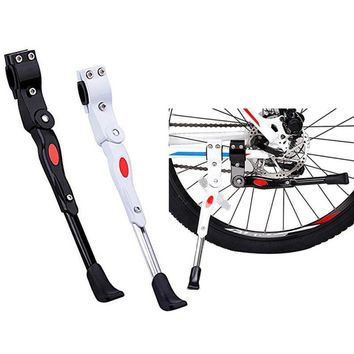 Road Bicycle Parking Rack Kickstand Heavy Duty Adjustable Mountain Bike Bicycle Cycle Prop Side Rear Kick Stand New Arrival