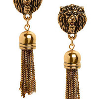 I Ain't Lion Earrings | Mod Retro Vintage Earrings | ModCloth.com