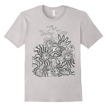 Color Me Briny Deep Fish Abstract t-shirt