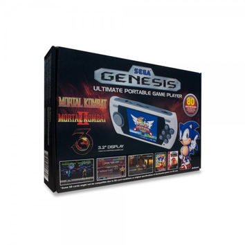 Sega Genesis Ultimate Portable Game Player (2015 Edition) w/ 80 Built-in Games (New)