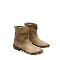 FLAT COWBOY ANKLE BOOT - Last sizes - Woman | ZARA United States