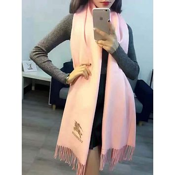 Perfect Burberry Women Fashion Winter Accessories Sunscreen Blanket Cape Scarf Scarves