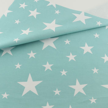 Blue Star Bedding Decoration Tissue Cotton Fabric Quilting Home Textile Patchwork Sewing Cloth Craft Teramila Fabrics Tecido