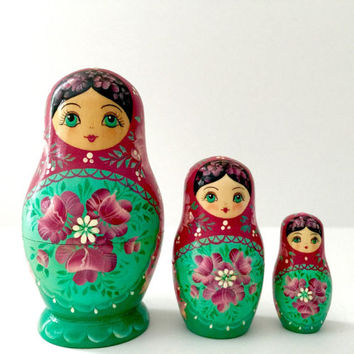Floral Nesting Doll