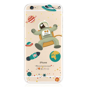 Astronauts in Space Case for iPhone Fun